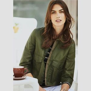 Anthropologie Hei Hei Utility Swing Jacket, EUC